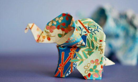 origami elefanter