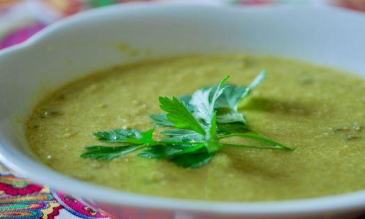 recept på grön ärtsoppa