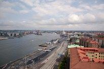 Utsikt från Sjöfartsmuseéts torn, Göteborg