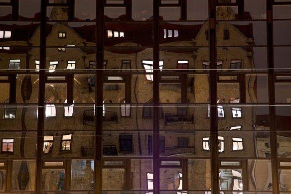 Reflektion hus