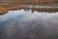 reflektion moln änggårdsbergen