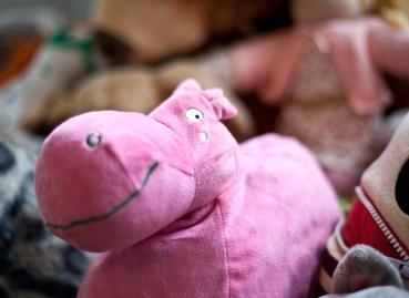 flodhäst-leksak