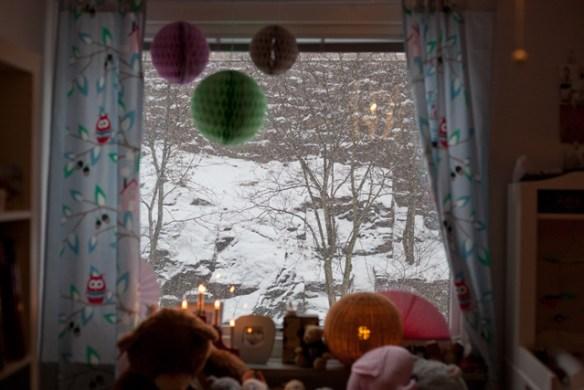 snö-fönster