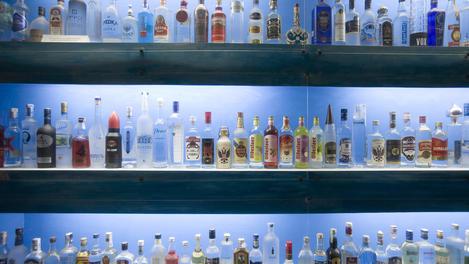 House of Vodka bar in Rato.