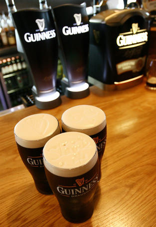 Guiness Brewery at St James's Gate.