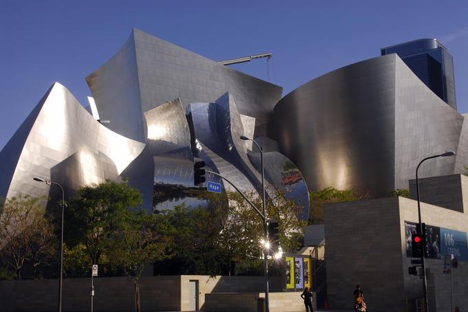 Frank Gehry's Walt Disney Center, Downtown.