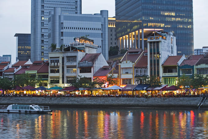 Image result for singapore boat quay