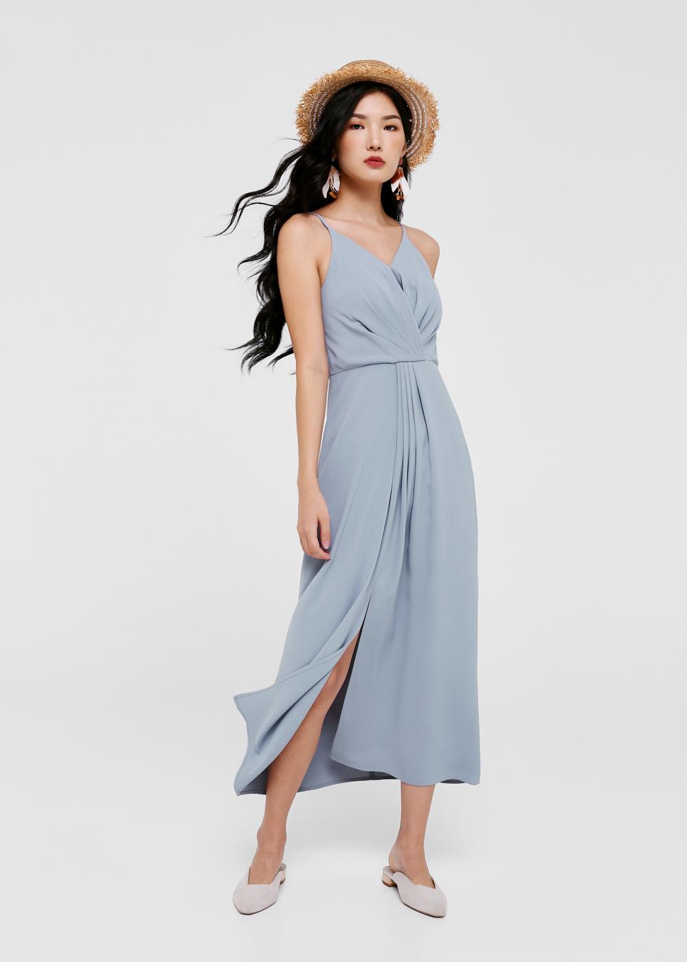 Ryesen Cross Over Maxi Dress