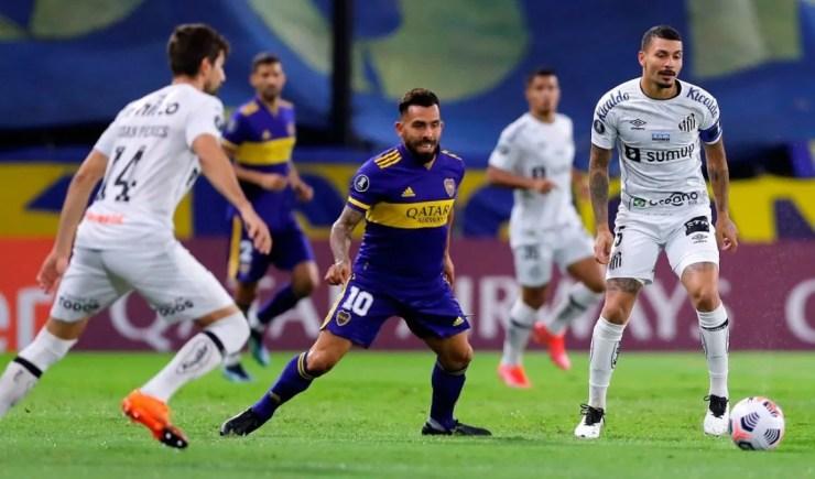 Boca superó al Santos y se tomó revancha en la Copa Libertadores. Foto: larepublica.pe