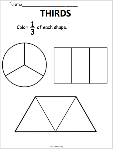 Fraction Worksheet