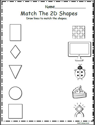 Image Result For Math Worksheet For Kindergarten Numbers