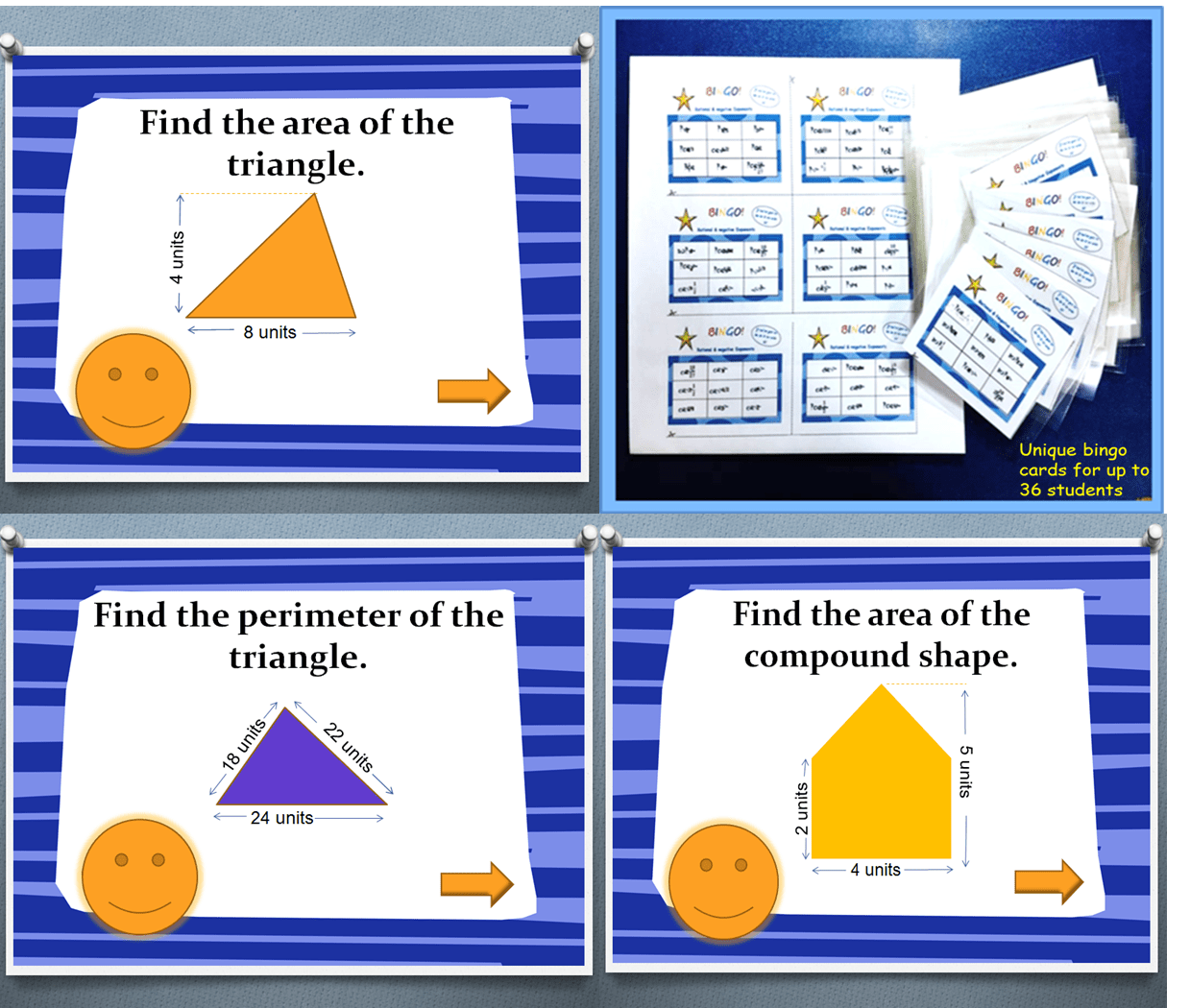 Triangles Area And Perimeter Game