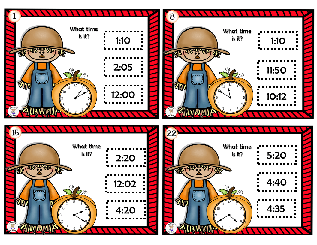 Harvest Time Cards