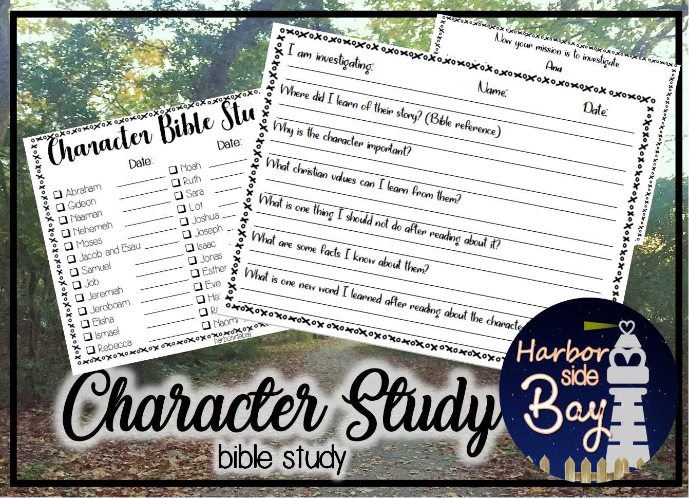 Bible Study Character Study Kids And Teens