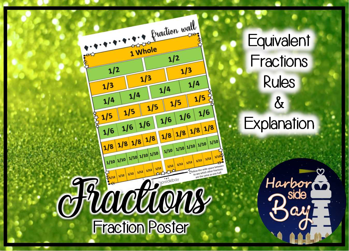 Fraction Wall Equivalent Fractions