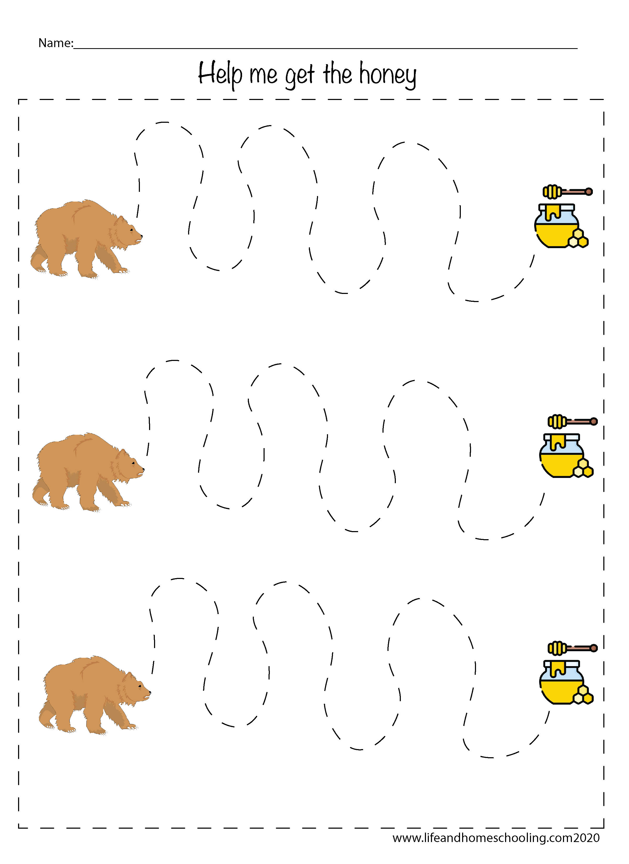 Fine Motor Skills Activity Worksheets
