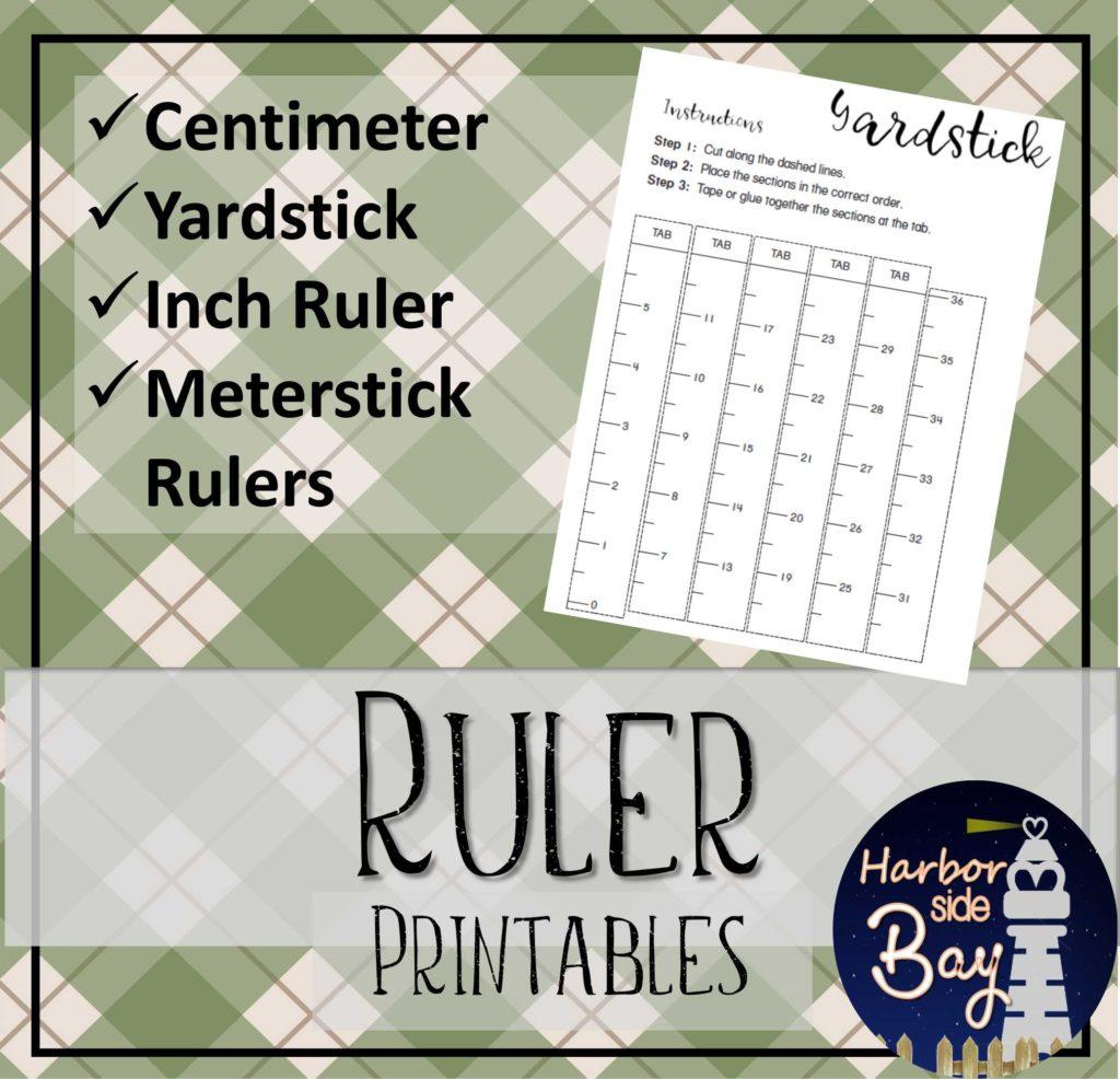 Ruler Template Printables
