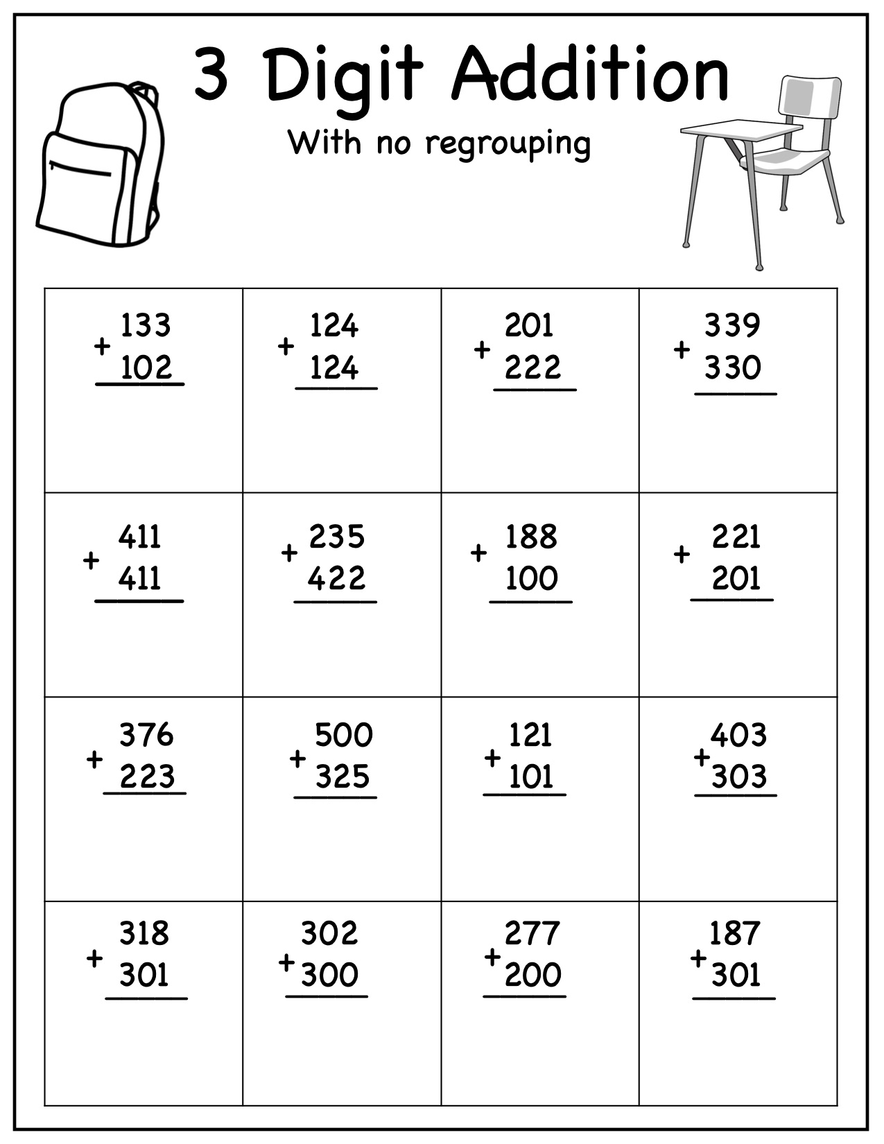 Part Part Whole Missing Addend Addition Subtraction