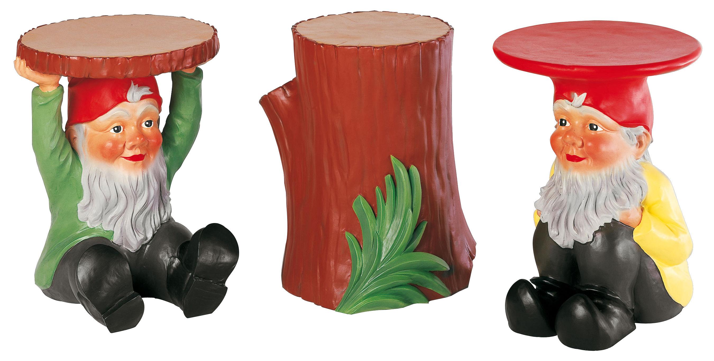 Table Dappoint Gnome Attila Plastique Attila Kartell