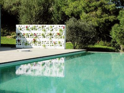Scopri Fioriera Garden Wall Impilabile Fioriera Bianca
