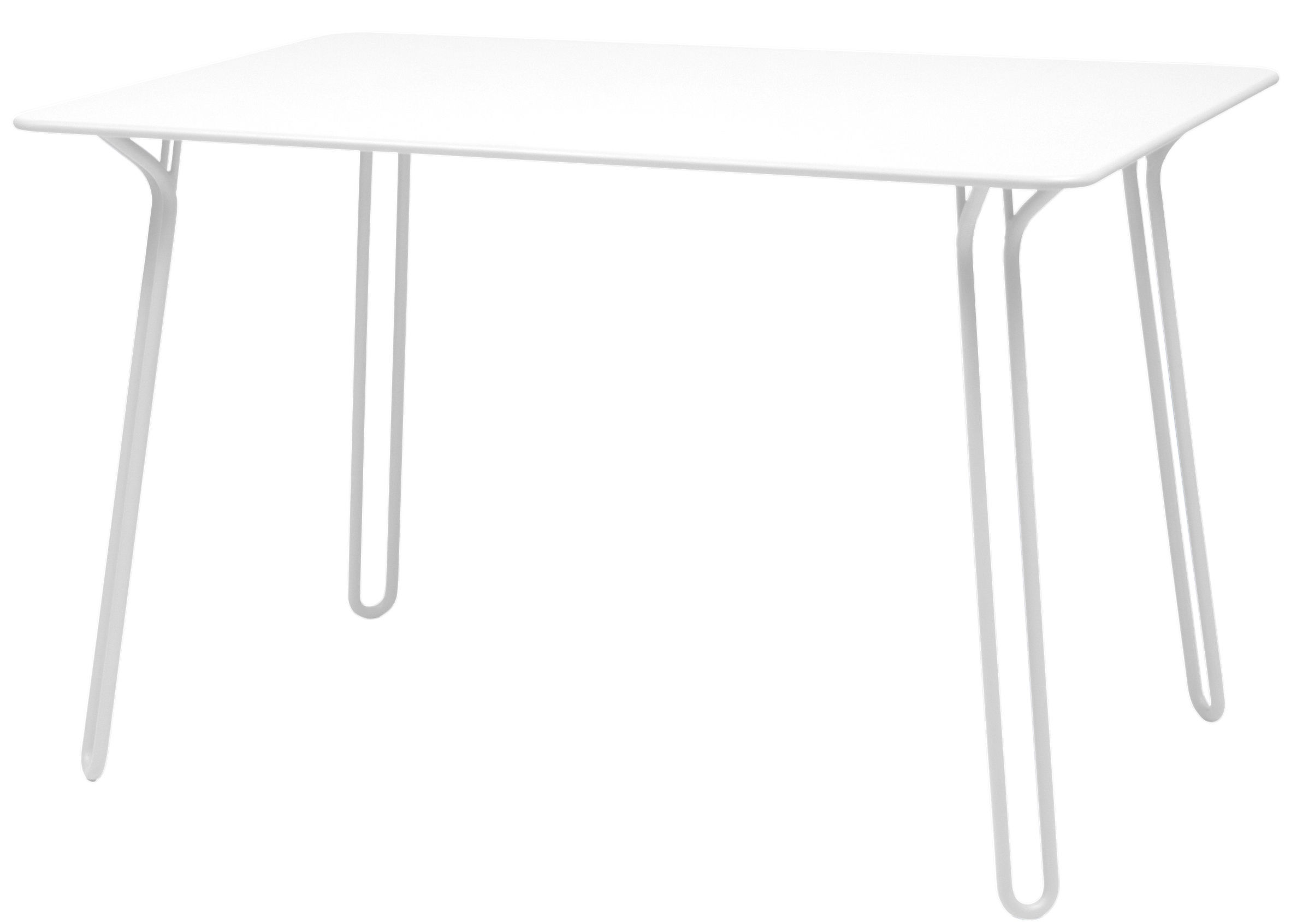 Surprising Table Cotton White By Fermob