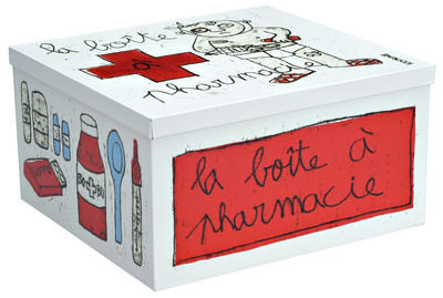 Bote Pharmacie Graphisme 100drine 100drine Pour