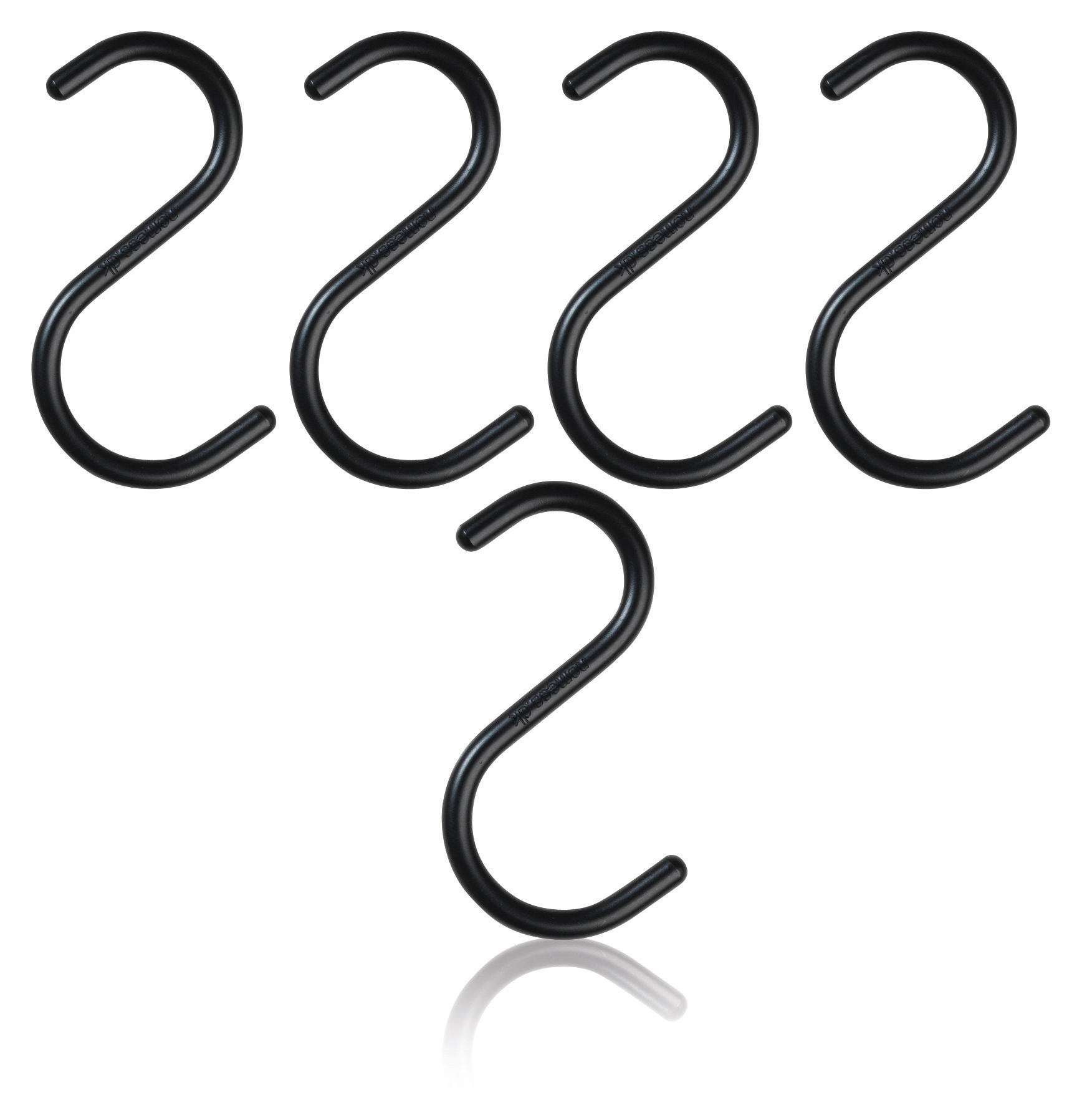 S Hook Small Hook Black By Nomess