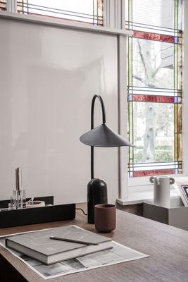 Corbeille A Courrier Ferm Living Noir Made In Design