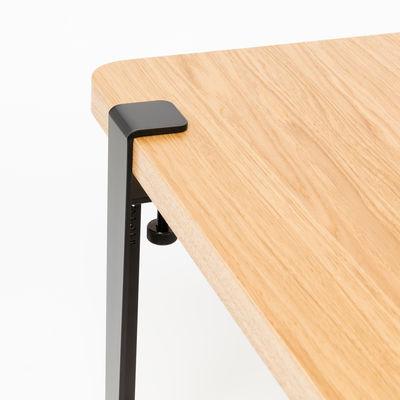 pied avec fixation etau h 43 cm pour creer tables basse banc tiptoe