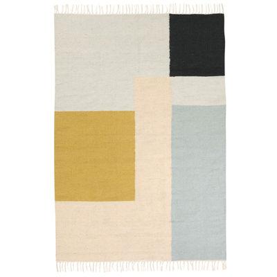 kelim squares teppich xl 160 x 250 cm ferm living