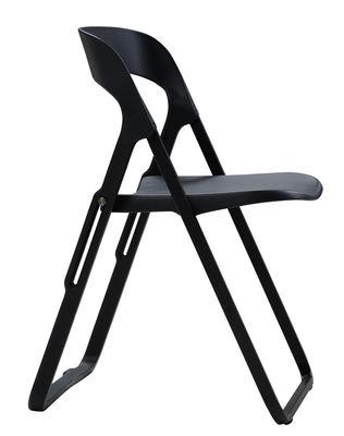 chaise pliante bek polypropylene et structure metal casamania