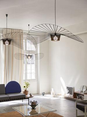 Suspension Vertigo Petite Friture Noir 140 Cm Made In Design