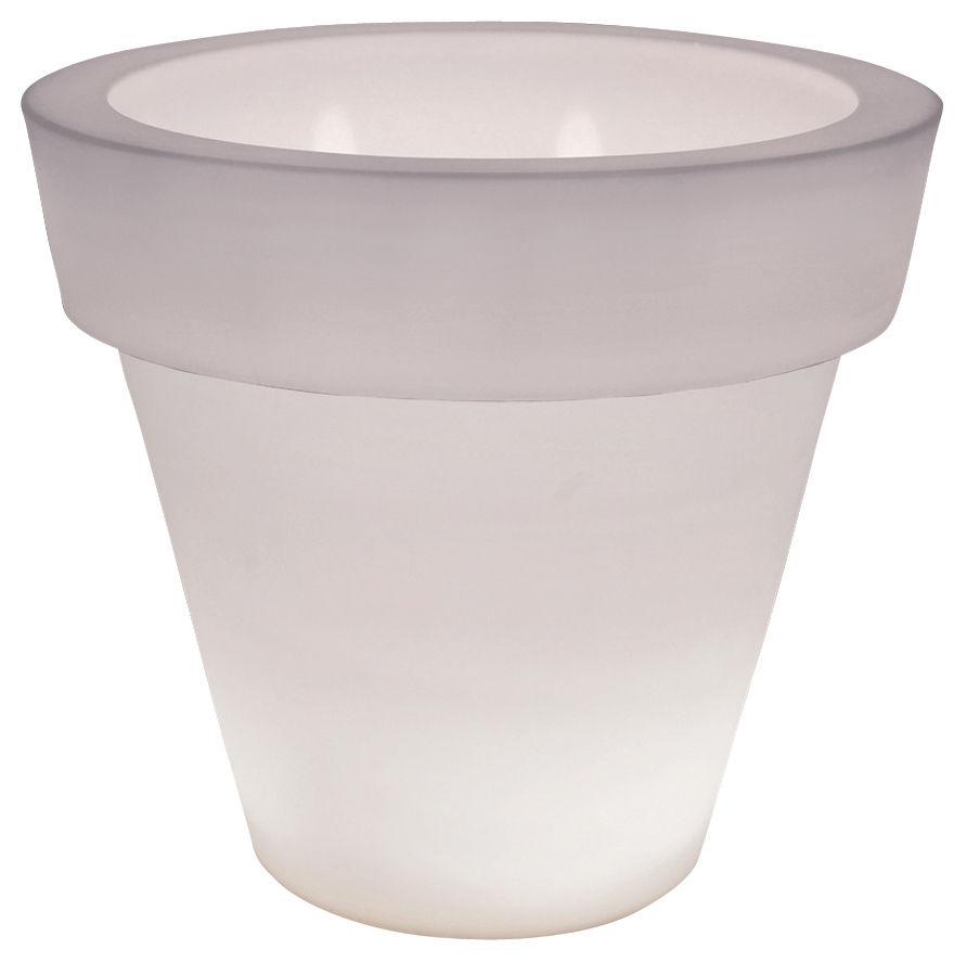 pot de fleurs lumineux vas three light serralunga