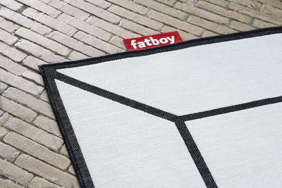 tapis d exterieur carpretty frame 200 x 290 cm polypropylene tisse fatboy