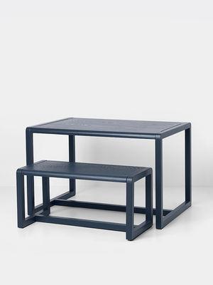 little architect children table 4 places 76 x 55 cm by ferm living