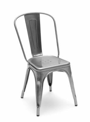 chaise empilable a inox outdoor pour l exterieur tolix