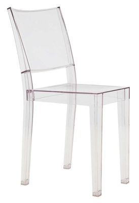 chaise empilable la marie transparente