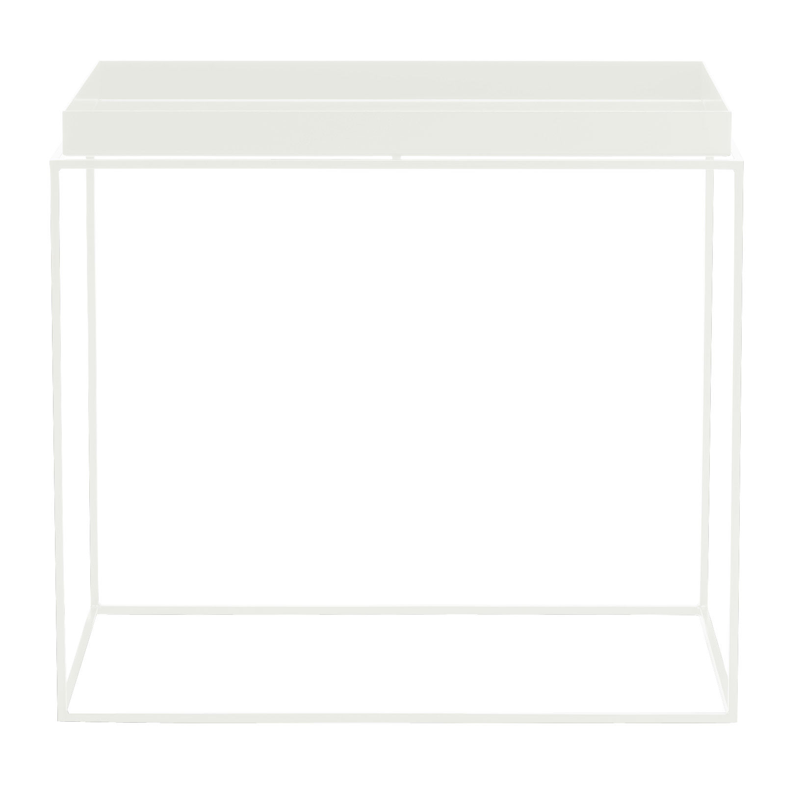 tray coffee table rectangular h 50 cm 60 x 40 cm by hay