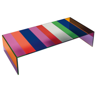 the dark side of the moon coffee table 155 x 55 cm by glas italia