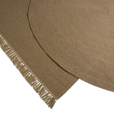 tapis d exterieur siesta o 250 cm fait main cinna