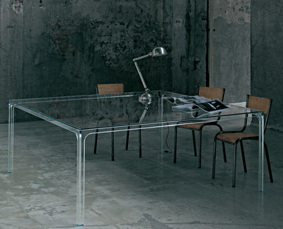 table carree oscar 140 x 140 cm glas italia