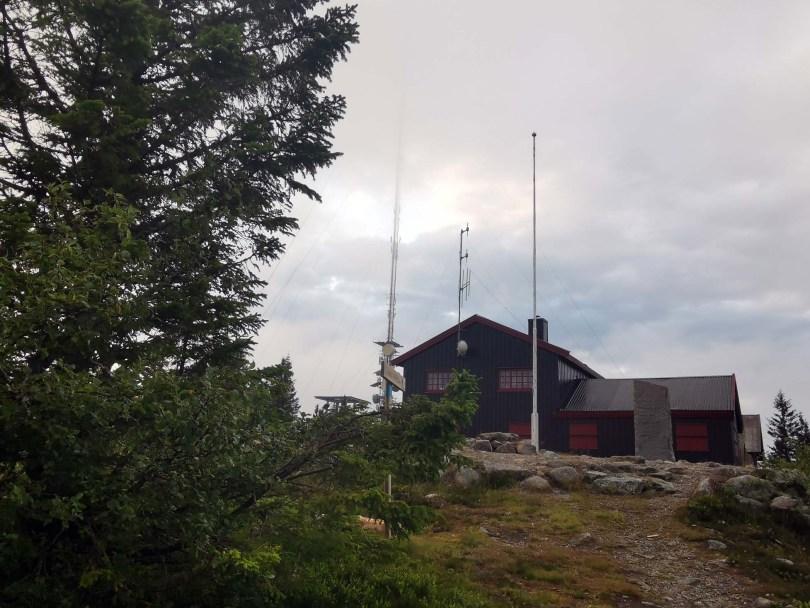 Borgen på toppen av Nordhue.