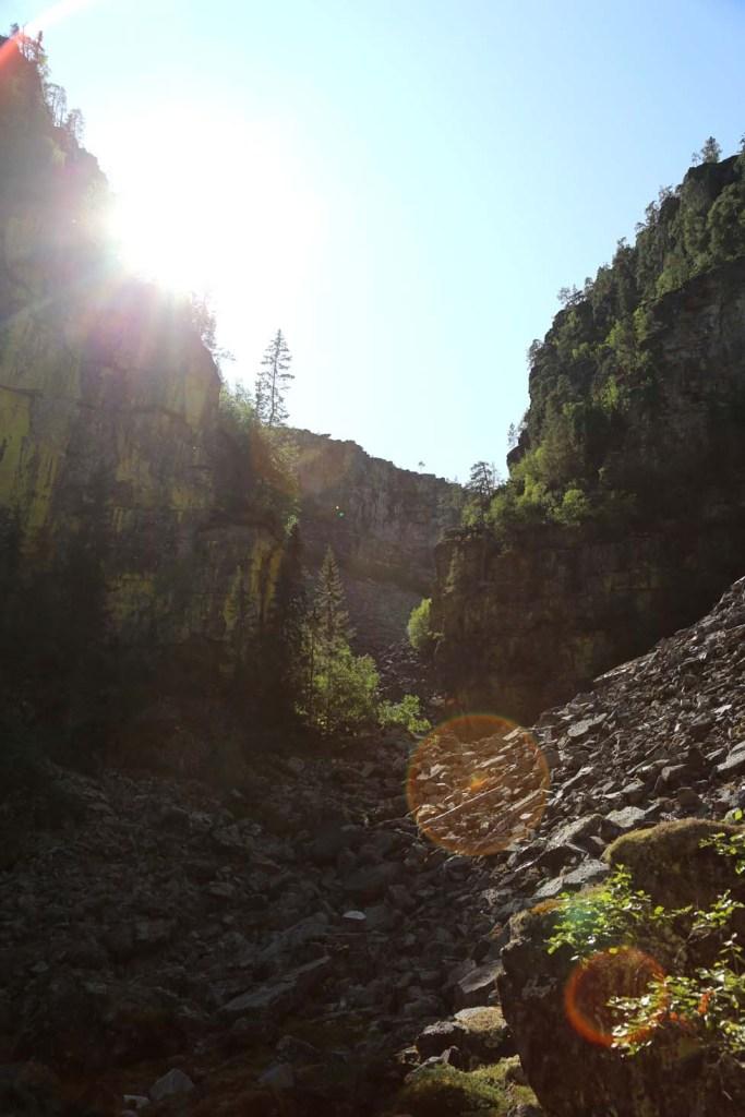 Jutulhogget, Nord-Europas nest lengste canyon eller juv.