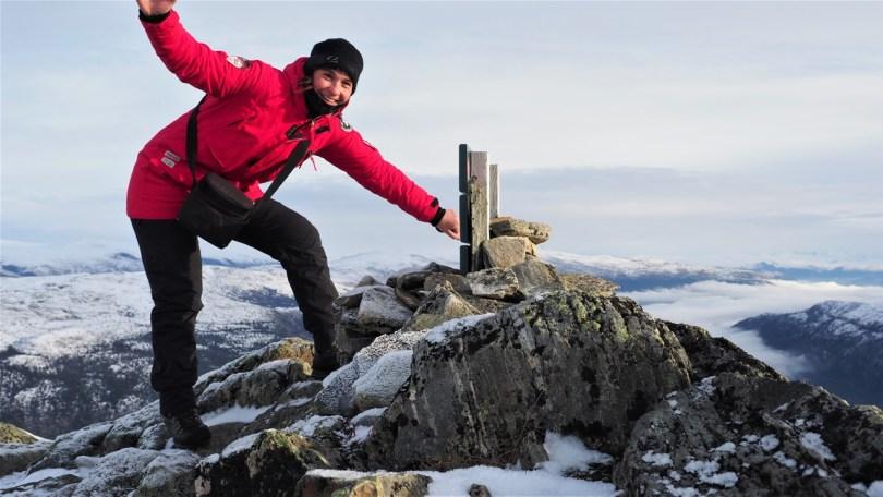 «Alenetur fra hverdagen», skriver Ingeborg Mjanger om dette bildet fra november 2019. Foto: Privat/Fjellivettet.com