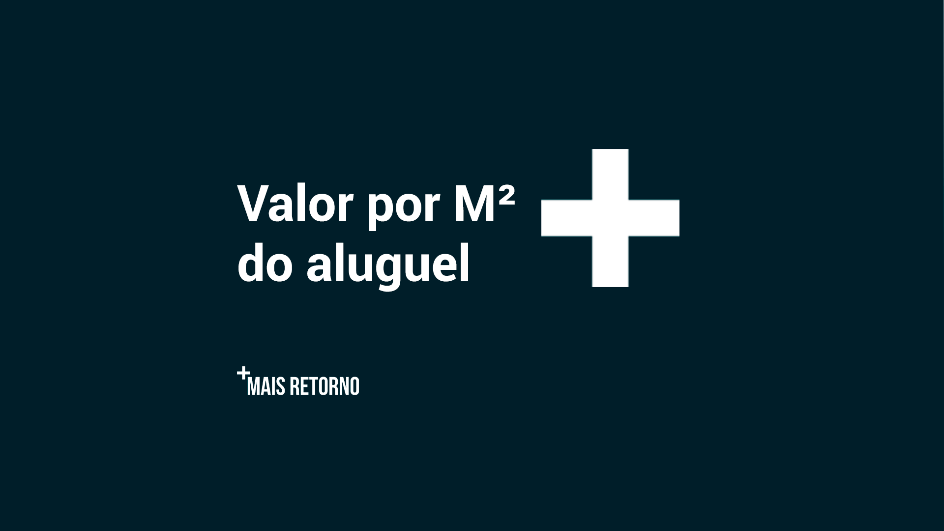 Valor por M² do aluguel