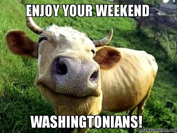Enjoy Your Weekend Washingtonians Make A Meme