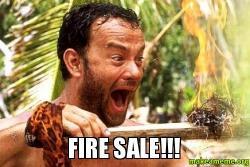 FIRE SALE Make A Meme