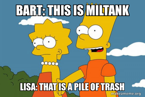 Bart This Is Miltank Lisa That Is A Pile Of Trash Bart And