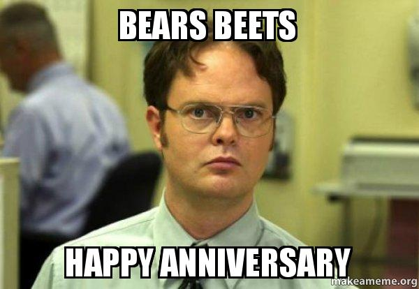 Bears Beets Happy Anniversary Schrute Facts Dwight Schrute From