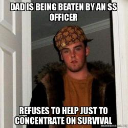 Dad Is Being Beaten By An Ss Officer Refuses To Help Just To